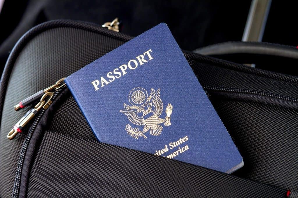 מזוודה ודרכון